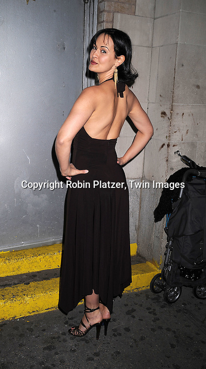 Sydney Penny .at The All My Children Christmas Party on December 20, 2007 at Arena in New York City. .Robin Platzer, Twin Images