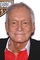 "27 September 2017 - Hugh Marston Hefner aka ""Hef"" was an American magazine publisher, editor, businessman, and international playboy best known as the editor-in-chief and publisher of Playboy magazine, which he founded in 1953. Hefner was the founder and chief creative officer of Playboy Enterprises, the publishing group that operates the magazine. Hefner was also a political activist and philanthropist. File Photo: 06 May 2011 - Las Vegas, Nevada - Hugh Hefner.  2011 Playmate of the Year Party at Moon Nightclub inside the Palms Casino Resort.  Photo Credit: MJT/AdMedia (Newscom TagID: admphotos652004.jpg) [Photo via Newscom]"