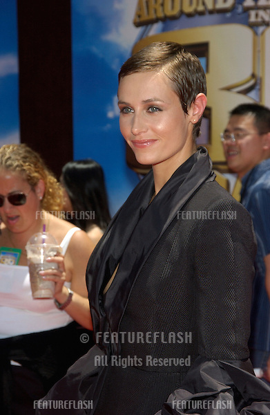 Actress CECILE DE FRANCE at the Hollywood premiere of her new movie Around the World in 80 Days..June 13, 2004