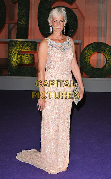Judy Murray at the Wimbledon Champions Dinner, The Guildhall, Gresham Street, London, England, UK, on Sunday 10 July 2016.<br /> CAP/CAN<br /> &copy;CAN/Capital Pictures