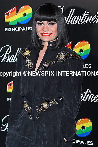 "JESSIE J.attends the 40 Principales 2011 Awards..Shakira ""The Hips Don't Lie"" Columbian hitmaker, picked up the award for Most Influential Latin Artist and Best Foreign Artist in the Spanish Language. While Enrique Iglesias walked away with the Best Music Video prize for Tonight (I'm Loving You) and Most Influential Spanish Artist in the World Award..The event at Madrid's Palacio de los Deportes saw performances by Shakira, Enrique Iglesias, British pop star Jessie J and Romanian singer Alexandra Stan..Los 40 Principales is the main musical radio station in Spain with more than four million listeners_09/12/2011.Mandatory Credit Photo: ©NEWSPIX INTERNATIONAL..                 **ALL FEES PAYABLE TO: ""NEWSPIX INTERNATIONAL""**..IMMEDIATE CONFIRMATION OF USAGE REQUIRED:.Newspix International, 31 Chinnery Hill, Bishop's Stortford, ENGLAND CM23 3PS.Tel:+441279 324672  ; Fax: +441279656877.Mobile:  07775681153.e-mail: info@newspixinternational.co.uk"