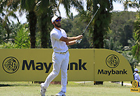 Romain Wattel (FRA) in action on the 7th during Round 3 of the Maybank Championship at the Saujana Golf and Country Club in Kuala Lumpur on Saturday 3rd February 2018.<br /> Picture:  Thos Caffrey / www.golffile.ie<br /> <br /> All photo usage must carry mandatory copyright credit (© Golffile | Thos Caffrey)