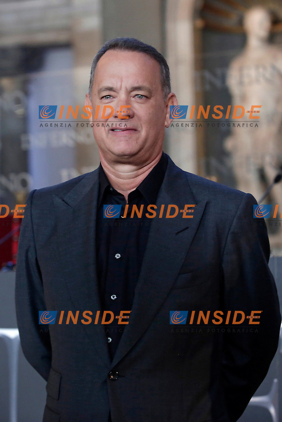 Tom Hanks<br /> Firenze 06-10-2016. Photocall del film 'Inferno' in anteprima mondiale.<br /> Rome 6th October 2016. 'Inferno' Photocall<br /> Foto Samantha Zucchi Insidefoto