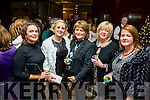 Staff of the Bon Secour Hospital, Tralee enjoying their Christmas party on Friday night at Fels Point Hotel. Pictured  l-r  Claire Kiely, Cara Buckley, Christine Maher McCarthy, Noreen Breen and Catherine Walsh.
