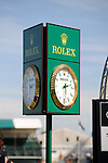 1st September 2016, The Rolex Clock at the 2016 Land Rover Burghley Horse Trials, Stamford, United Kingdom. Jonathan Clarke