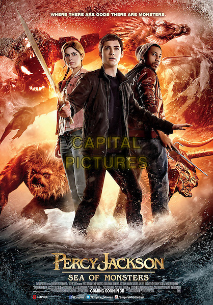 POSTER ART<br /> in Percy Jackson: Sea of Monsters (2013) <br /> *Filmstill - Editorial Use Only*<br /> CAP/FB<br /> Image supplied by Capital Pictures