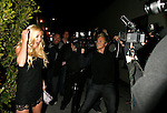 "HOLLYWOOD, CA. - April 10: Heidi Montag being filmed by Spencer Pratt at a video shoot for ""Look How I'm Doin' "" on April 9, 2009 at Crown Bar in West Hollywood, California."