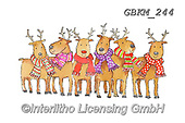 Kate, CHRISTMAS ANIMALS, WEIHNACHTEN TIERE, NAVIDAD ANIMALES, paintings+++++Christmas page 96 #,GBKM244,#xa# ,sticker,stickers