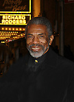 Another World's Andre Shields came to see The Gershwins' Porgy and Bess - The Broadway Musical on January 7, 2012 at The Richard Rogers Theatre, New York City, New York. (Photo by Sue Coflin/Max Photos)