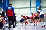 Mannheim, Germany, November 29: During the Bundesliga indoor women hockey match between Mannheimer HC and TSV Mannheim on November 29, 2019 at Irma-Roechling-Halle in Mannheim, Germany. Final score 4-4. Nicklas Benecke of Mannheimer HC<br /> <br /> Foto © PIX-Sportfotos *** Foto ist honorarpflichtig! *** Auf Anfrage in hoeherer Qualitaet/Aufloesung. Belegexemplar erbeten. Veroeffentlichung ausschliesslich fuer journalistisch-publizistische Zwecke. For editorial use only.