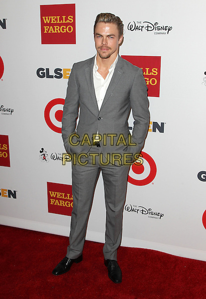 17 October 2014 - Beverly Hills, California - Derek Hough. 10th Annual GLSEN Respect Awards Held at The Regent Beverly Wilshire.   <br /> CAP/ADM/FS<br /> &copy;Faye Sadou/AdMedia/Capital Pictures