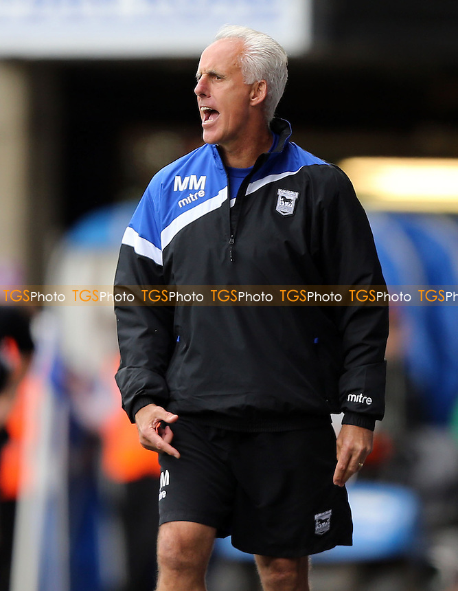 Ipswich manager Mick McCarthy - Ipswich Town vs Middlesbrough, Sky Bet Championship at Portman Road, Ipswich - 14/09/13 - MANDATORY CREDIT: Rob Newell/TGSPHOTO - Self billing applies where appropriate - 0845 094 6026 - contact@tgsphoto.co.uk - NO UNPAID USE