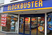It's been a terrible week for Britain's High Street stores - first photographic retailer Jessops closed it's doors, then music chain HMV announced it's called in the receivers and today, DVD and video games rental firm Blockbuster UK, which has 528 stores in the UK employing 4,190 staff, has gone into administration. - January 16th 2012..Photo by Keith Mayhew.