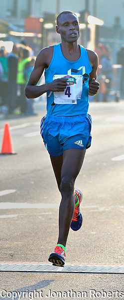 Rodes City Run 10K  2015 signature and winners images<br /> <br /> Geoffrey Kenisi wins the Rodes City Run 10K  2015.