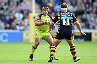 Tom Youngs of Leicester Tigers in possession. Aviva Premiership semi final, between Wasps and Leicester Tigers on May 20, 2017 at the Ricoh Arena in Coventry, England. Photo by: Patrick Khachfe / JMP