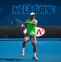 Alejandro Falla (COL)<br /> <br /> Tennis - Australian Open 2015 - Grand Slam -  Melbourne Park - Melbourne - Victoria - Australia  - 19 January 2015. <br /> &copy; AMN IMAGES