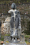 Pabula Vihara temple, UNESCO World Heritage Site, the ancient city of Polonnaruwa, Sri Lanka, Asia Buddha statue figure