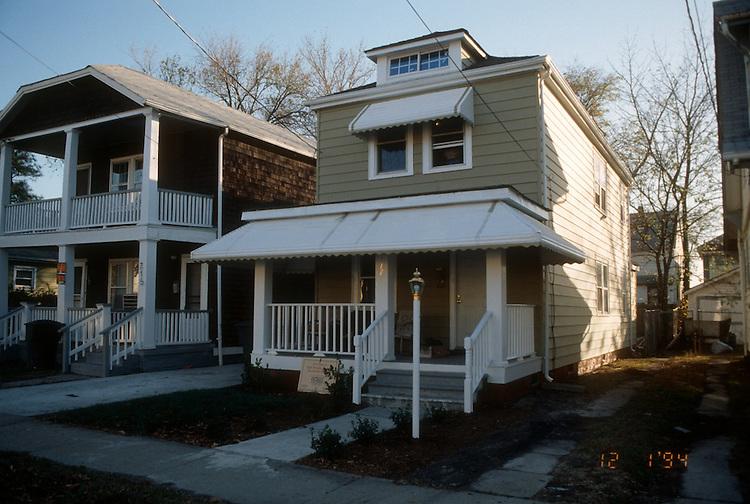 1994 December ..Conservation.Park Place..HOME PROGRAM.717 WEST 27TH STREET.AFTER REHAB...NEG#.NRHA#..