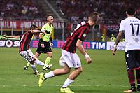 gol Suso goal<br /> Milano 27-08-2017 Stadio Giuseppe Meazza in San Siro Calcio Serie A<br /> 2017/2018 Milan - Cagliari Foto Imagesport/Insidefoto