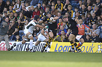 Wycombe, Great Britain, Wasps James HASKELL,  hands off Kieran ROCHE,during the EDF Energy, Anglo Welsh, rugby Cup match, London Wasps vs London Irish,  at Adams Park, England, 08/10/2006. [Photo, Peter Spurrier/Intersport-images]....
