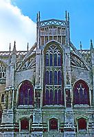 Bristol: St. Mary Redcliffe, north transept. Photo '90.