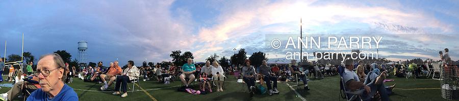 Beatlemania outdoor public concert at Tully Park, Garden City Park, New York, July 19, 2014