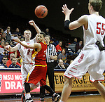 MSU Moorhead vs Pittsburg State NCAA Central Region Basketball Tournament