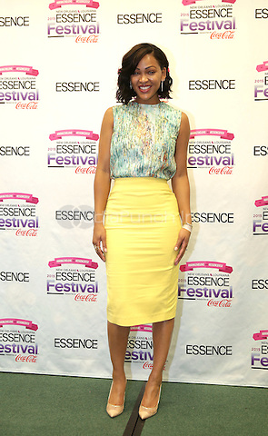 NEW ORLEANS, LA - JULY 3: Actress Meagan Good from the new FOX show Minority Report attends the 2015 Essence Festival at the Ernest N. Morial Convention Center on July 3, 2015 in New Orleans, Louisiana. Credit: PGDH/MediaPunch