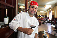 Chef George Formaro, owner of Des Moines' Centro and Django restaurants, says WineFest is an event that naturally compliments the food on his menus.