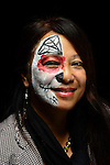 Visitors to El Centro de La Raza take part in Dia de Los Muertos activities and events Nov. 2, 2015 in Beacon Hill, Seattle. Photo by Daniel Berman/www.bermanphotos.com