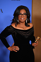 Oprah Winfrey at the 75th Annual Golden Globe Awards at the Beverly Hilton Hotel, Beverly Hills, USA 07 Jan. 2018<br /> Picture: Paul Smith/Featureflash/SilverHub 0208 004 5359 sales@silverhubmedia.com