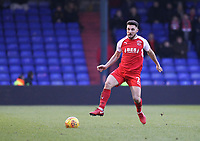 Fleetwood Town's Lewis Coyle during the Sky Bet League 1 match between Oldham Athletic and Fleetwood Town at Boundary Park, Oldham, England on 26 December 2017. Photo by Juel Miah / PRiME Media Images.