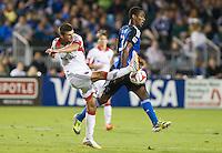 Santa Clara, California - Friday, July 11, 2014: DC United defeated the San Jose Earthquakes 2-1 during a Major League Soccer (MLS) match at Buck Shaw Stadium.
