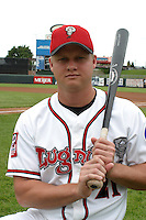August 31, 2003:  Kevin Collins of the Lansing Lugnuts during a game at Cooley Stadium in Lansing, Michigan.  Photo by:  Mike Janes/Four Seam Images