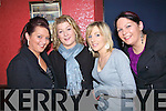 Ballyduff girls enjoying a night out in Broene's bar `ballyduff on Saturday night were Tanya Mulvihill, Kathy Prendergast, Deirdre Ross and Graine Frigelle..