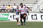 09 October 2016: Fort Lauderdale's Junior Sandoval (HON). The Carolina RailHawks hosted the Fort Lauderdale Strikers at WakeMed Soccer Park in Cary, North Carolina in a 2016 North American Soccer League Fall Season match. Carolina won the game 3-0.