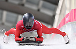 Janine Flock (AUT). Womens skeleton training. Pyeongchang2018 winter Olympics. Alpensia sliding centre. Alpensia. Gangneung. Republic of Korea. 12/02/2018. ~ MANDATORY CREDIT Garry Bowden/SIPPA - NO UNAUTHORISED USE - +44 7837 394578