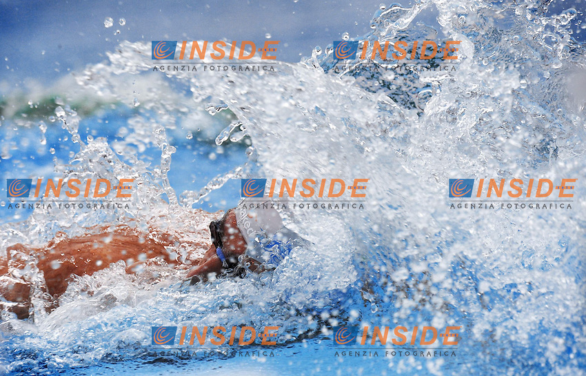 Roma 31th July 2009 - 13th Fina World Championships From 17th to 2nd August 2009....Swimming finals..Men's 4x200m freestyle relay..Italy team - Emiliano Brembilla ....photo: Roma2009.com/InsideFoto/SeaSee.com