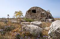 Nordzypern, Königsgräber von Tuzla, 8.-6- Jh. v.Chr.,  Grab 50, gennat Grab der heiligen Katharina