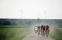 a small group tries to catch the race leaders<br /> <br /> 90th Schaal Sels 2015
