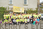Ballybunion Road Race : Pictured prior to the start of  the annual Ballybunion 10K & half marathon race held in Ballybunion on Saturday were the members of the Kerry Crusaders running, cycling and fitness group.