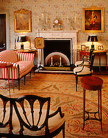 parlor at John N. Brown house, Providence, RI