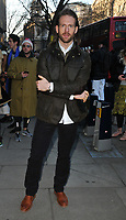 Craig McGinlay at the LFW (Men's) a/w2018 Chistopher Raeburn catwalk show, BFC Show Space, The Store Studios, The Strand, London, England, UK, on Sunday 07 January 2018.<br /> CAP/CAN<br /> &copy;CAN/Capital Pictures