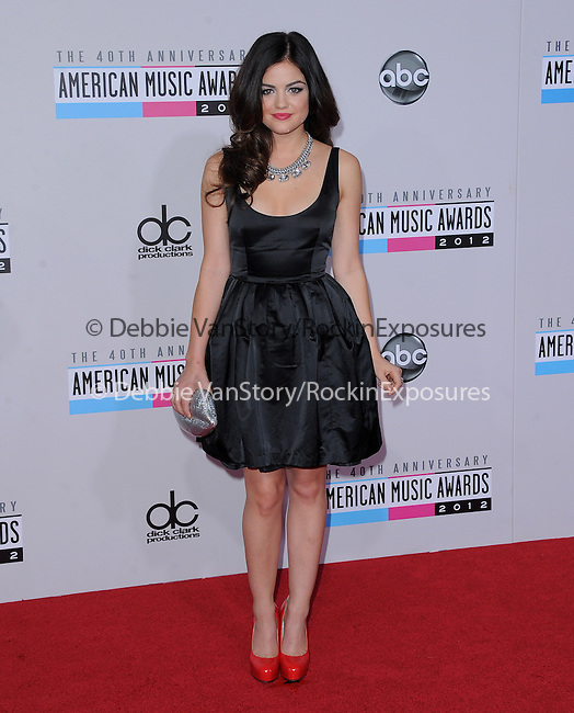 Lucy Hale at The 2011 MTV Video Music Awards held at Staples Center in Los Angeles, California on September 06,2012                                                                   Copyright 2012  DVS / Hollywood Press Agency