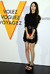 """April 21, 2016, Tokyo, Japan - South Korean singer Yoona smiles during a photo call for the reception of Louis Vuitton's art exhibition in Tokyo on Thursday, April 21, 2016. French luxury barnd Luis Vuitton will hold the exhibition """"Volez, Voguez, Voyagez"""" in Tokyo from April 23 through June 19.  (Photo by Yoshio Tsunoda/AFLO) LWX -ytd-"""