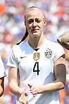 16 August 2015: Becky Sauerbrunn (USA). The United States Women's National Team played the Costa Rica Women's National Team at Heinz Field in Pittsburgh, Pennsylvania in an women's international friendly soccer game. The U.S. won the game 8-0.