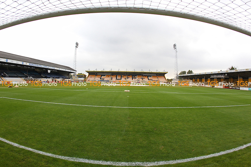 General view of the ground ahead of Cambridge United vs Grimsby Town, Sky Bet EFL League 2 Football at the Abbey Stadium on 15th October 2016