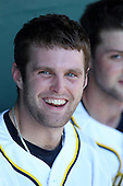 Garrett Stephens #15 of the Michigan Wolverines during the Big East-Big Ten Challenge vs. the St. John's Red Storm at Al Lang Field in St. Petersburg, Florida;  February 19, 2011.  St. John's defeated Michigan 13-6.  Photo By Mike Janes/Four Seam Images