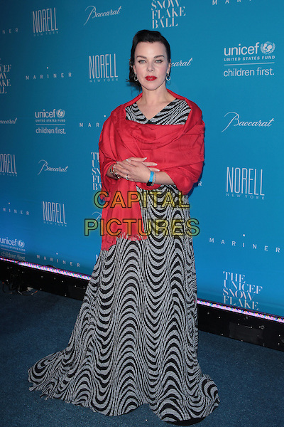 NEW YORK, NY - DECEMBER 1: Debi Mazar at the 11th Annual UNICEF Snowflake Ball at Cipriani, Wall Street on December 1, 2015 in New York City.  <br /> CAP/MPI99<br /> &copy;MPI99/Capital Pictures