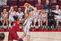 Stanford, CA -- November 7, 2015: Stanford Cardinal over Academy of Art Urban Knights 81-48 in an exhibition game at Maples Pavilion